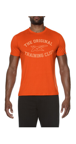 asics Sanded Graphic hardloopshirt Heren oranje